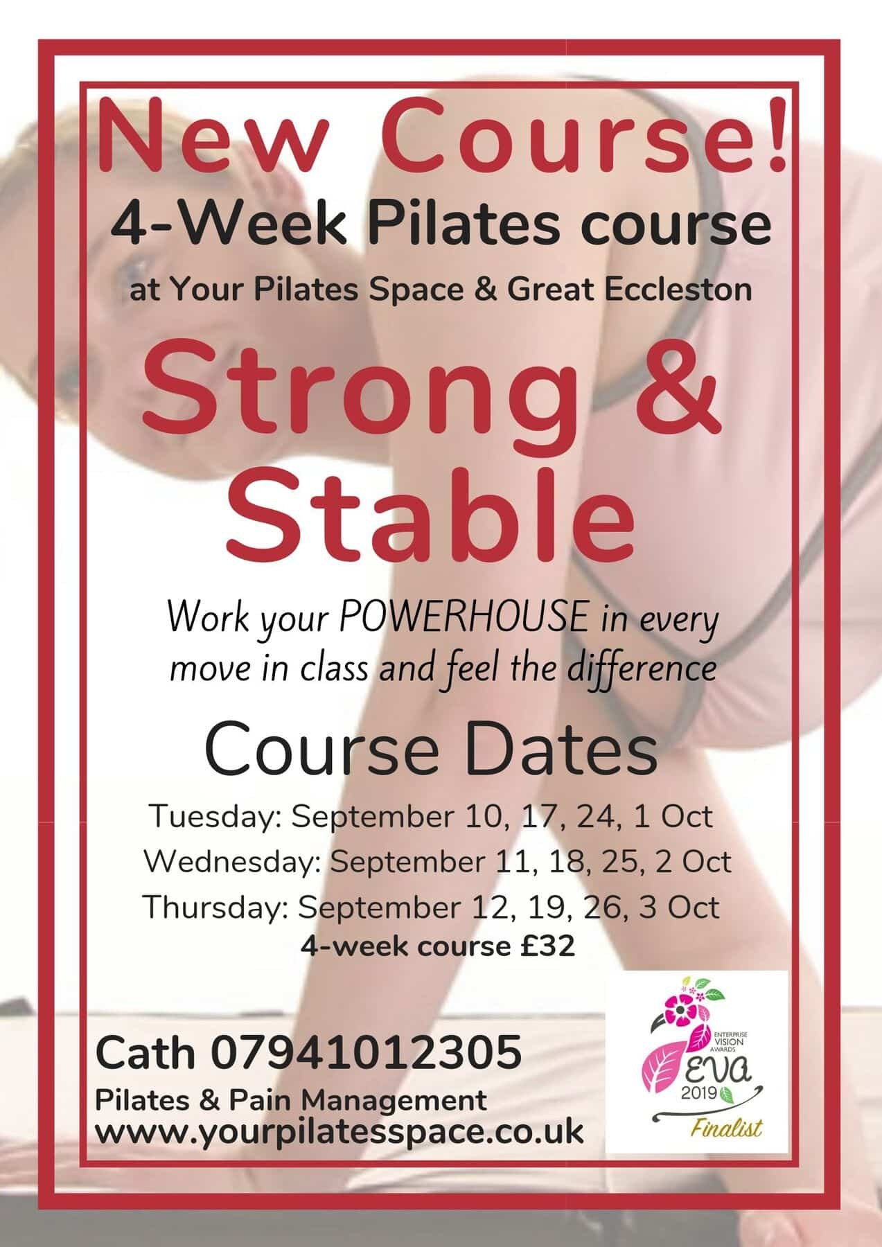 Sept strong and stable class poster
